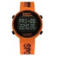 Superdry SYG203O Digi Pedometer Watch (Orange/Black)