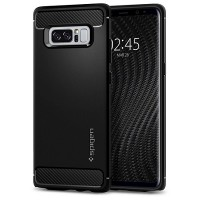 Spigen Galaxy Note 8 Rugged Armor Case (Matte Black)