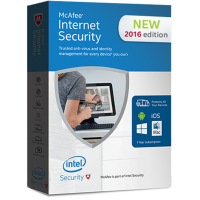 McAfee Internet Security 2016 Unlimited