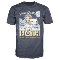 POP Tees [#52 Luke Skywalker Visit Hoth]  (Size L - Blue)