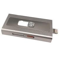 iPLUS OTG Evo 64GB for Apple (IXS-SV064TG) Silver