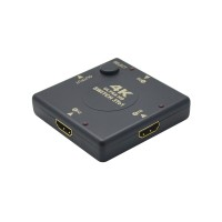 PLG 0605-3 3 In 1 HDMI Switch (Black)