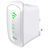Aztech 750Mbps Dual Band Concurrent Wireless-AC Repeater (WL590E)