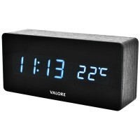 VALORE Auto Digital Clock (LWC01)(White Light)