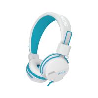 SonicGear Vibra 5 Headphone w Mic (W.Blue)