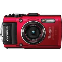 Olympus TG4 Digital Camera (Red)