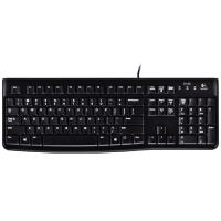 Logitech K120 USB Keyboard (Black)