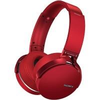 Sony MDR-XB950B1 Bluetooth Headphones (Red)