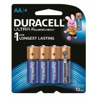 Duracell HALLEY 4S UL M3 AL AA Alkaline Battery