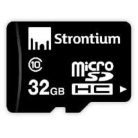 Strontium 32GB  MicroSD CL10