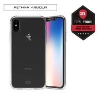 Redmonster iPhone X RETHINK ARMOUR Hard Case (Hard Ice)
