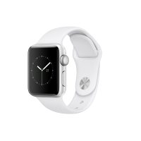 Apple Watch Series 2 38mm (Silver Aluminium Case with White Sport Band)