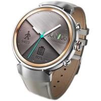 Asus ZenWatch 3 Leather Smart Watch (Silver w Beige)