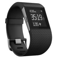 Fitbit Surge  Fitness Super Watch (Black -  L)