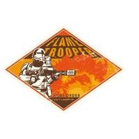 Star Wars Travel Sticker 8 FO FlameTrooper