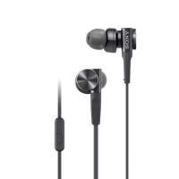 Sony MDR-XB75AP Earphones with Mic (Black)