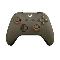 Xbox One Wireless Controller (Green/Orange)