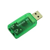 PRS RH318 USB2.0 To Virtual 5.1 Sound Card (Green)