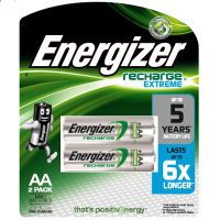 Energizer NH15 RP2 Rechargeable Extreme Battery (2300mAh)
