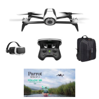 [Bundle] Parrot Bebop 2 Adventurer  (Bebop 2 + Skycontroller 2 + Cockpit Glasses + Backpack + Follow Me In-App)