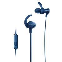 Sony MDR-XB510AS Sports Earphones + Mic (Blue)
