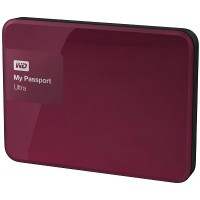 WD My Passport Ultra 4TB HDD (Wild Berry)