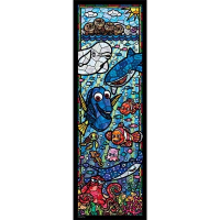 Disney Finding Dory Stained Glass Jigsaw Puzzle 456pcs