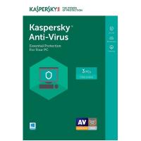 Kaspersky Anti Virus 2017 3 Device 1 Year