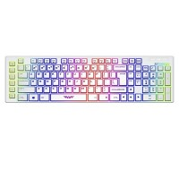 Armaggeddon AK333sFX Gaming Keyboard (White)
