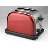 Thomson TM-SST004R Retro 2 Slice Toaster (Red)