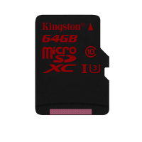 Kingston CL10 UHS- 64GB Memory Card (SDCA3/64GB)