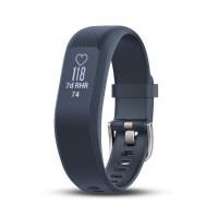 Garmin Vivosmart 3 Heart Rate Fitness Tracker (Blue/ Regular Size)
