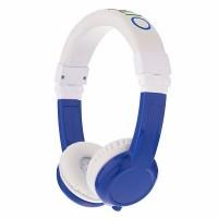 BuddyPhones Explore Kid Headphones + Mic (Blue)