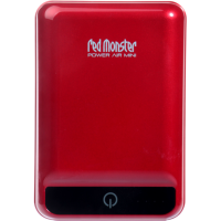Redmonster [RMPAM-12] POWER Air Mini 12000mAh Powerbank (Piano Red)