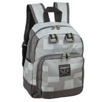 Minecraft Miner Mini Backpack (Grey)
