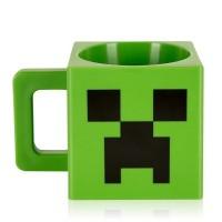 Minecraft Plastic Creeper Face Mugs