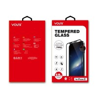Vouni iPhone X [0.18mm]  3D Soft Edge Tempered Glass (Black)
