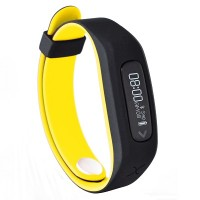Actxa Swift Plus Fitness Tracker (Yellow)