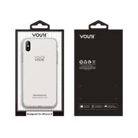 Vouni  iPhone X Fresh Soft Case (Clear Tea)