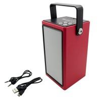 PRS BT99L LED Wireless Speaker (Red)