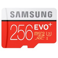Samsung microSD EVO+ Memory Card 256GB CL10 With Adaptor 95/90
