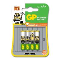 GP  Minions Ultra Alkaline 4xAAA (GPPCA24U435)