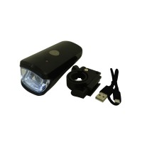PRS RH351 Bicycle Charging Headlight (Black)