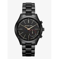 Michael Kors MKT4003 Access Slim Runway Hybrid Smartwatch (Black-Tone)