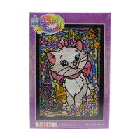 Disney The Aristocats Stained Glass Jigsaw Puzzle (266 pcs)