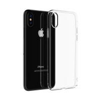 Comma iPhone X Hard Jacket Case (Clear)