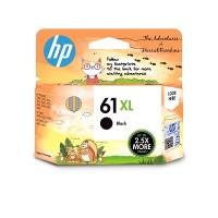 HP 61XL High Yield Black Original Ink Cartridge  (1VV34AA)