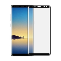 Devia Galaxy Note 8 3D Curved Tempered Glass (Black)