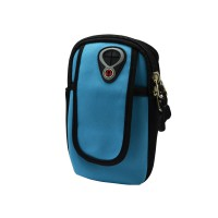 PRS RH-001 Bicycle Arm Bag For Mobile Phone (Light Blue)