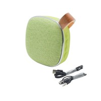 HOCO BS9 Light textile desktop wireless speaker (Green)